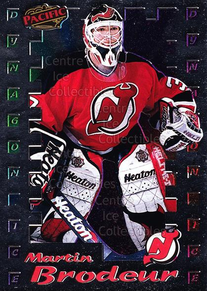 1998-99 Pacific Insert Dynagon Ice #12 Martin Brodeur<br/>1 In Stock - $5.00 each - <a href=https://centericecollectibles.foxycart.com/cart?name=1998-99%20Pacific%20Insert%20Dynagon%20Ice%20%2312%20Martin%20Brodeur...&price=$5.00&code=376120 class=foxycart> Buy it now! </a>
