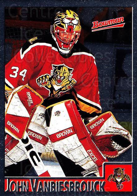 1995-96 Bowman Foil #30 John Vanbiesbrouck<br/>5 In Stock - $2.00 each - <a href=https://centericecollectibles.foxycart.com/cart?name=1995-96%20Bowman%20Foil%20%2330%20John%20Vanbiesbro...&quantity_max=5&price=$2.00&code=37619 class=foxycart> Buy it now! </a>