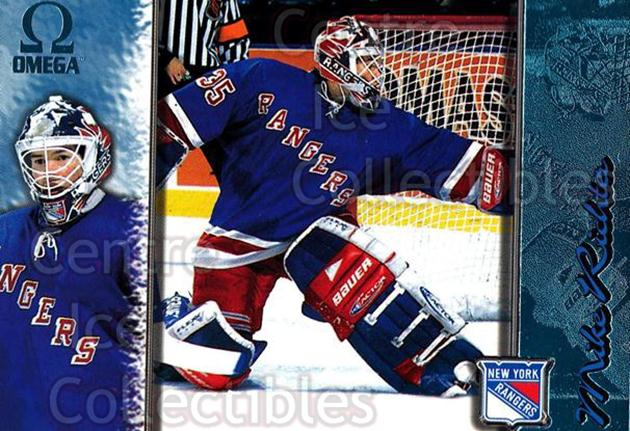 1997-98 Omega Ice Blue #148 Mike Richter<br/>7 In Stock - $5.00 each - <a href=https://centericecollectibles.foxycart.com/cart?name=1997-98%20Omega%20Ice%20Blue%20%23148%20Mike%20Richter...&quantity_max=7&price=$5.00&code=376351 class=foxycart> Buy it now! </a>