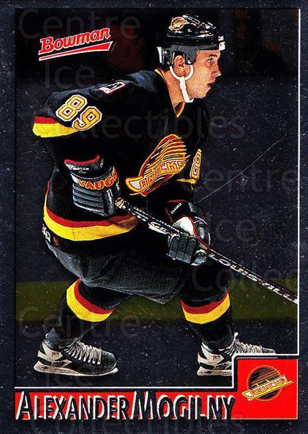 1995-96 Bowman Foil #5 Alexander Mogilny<br/>6 In Stock - $2.00 each - <a href=https://centericecollectibles.foxycart.com/cart?name=1995-96%20Bowman%20Foil%20%235%20Alexander%20Mogil...&quantity_max=6&price=$2.00&code=37637 class=foxycart> Buy it now! </a>