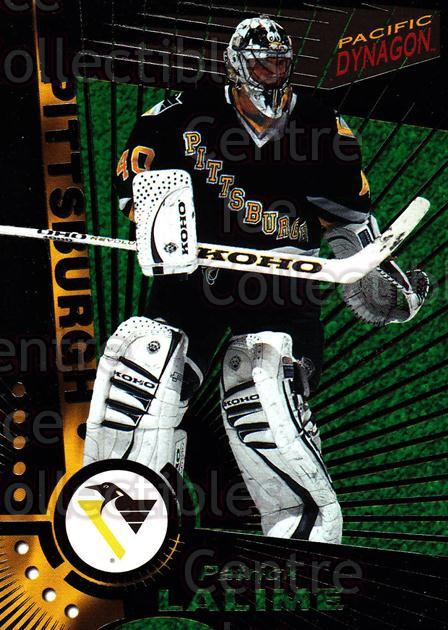 1997-98 Dynagon Dark Grey #103 Patrick Lalime<br/>2 In Stock - $3.00 each - <a href=https://centericecollectibles.foxycart.com/cart?name=1997-98%20Dynagon%20Dark%20Grey%20%23103%20Patrick%20Lalime...&quantity_max=2&price=$3.00&code=376712 class=foxycart> Buy it now! </a>