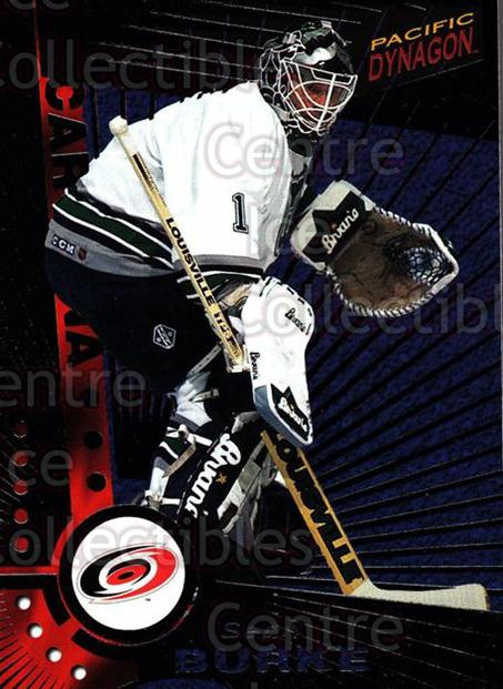 1997-98 Dynagon Dark Grey #20 Sean Burke<br/>5 In Stock - $3.00 each - <a href=https://centericecollectibles.foxycart.com/cart?name=1997-98%20Dynagon%20Dark%20Grey%20%2320%20Sean%20Burke...&quantity_max=5&price=$3.00&code=376758 class=foxycart> Buy it now! </a>