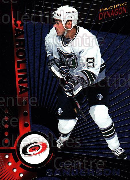 1997-98 Dynagon Dark Grey #23 Geoff Sanderson<br/>6 In Stock - $3.00 each - <a href=https://centericecollectibles.foxycart.com/cart?name=1997-98%20Dynagon%20Dark%20Grey%20%2323%20Geoff%20Sanderson...&quantity_max=6&price=$3.00&code=376761 class=foxycart> Buy it now! </a>