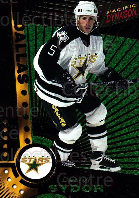 1997-98 Dynagon Dark Grey #39 Darryl Sydor<br/>7 In Stock - $3.00 each - <a href=https://centericecollectibles.foxycart.com/cart?name=1997-98%20Dynagon%20Dark%20Grey%20%2339%20Darryl%20Sydor...&quantity_max=7&price=$3.00&code=376775 class=foxycart> Buy it now! </a>
