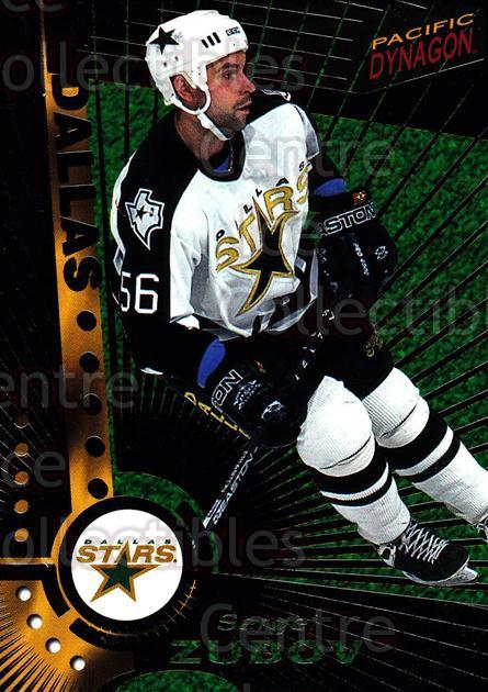 1997-98 Dynagon Dark Grey #40 Sergei Zubov<br/>8 In Stock - $3.00 each - <a href=https://centericecollectibles.foxycart.com/cart?name=1997-98%20Dynagon%20Dark%20Grey%20%2340%20Sergei%20Zubov...&quantity_max=8&price=$3.00&code=376777 class=foxycart> Buy it now! </a>