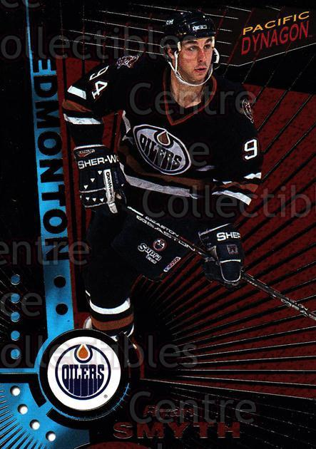 1997-98 Dynagon Dark Grey #51 Ryan Smyth<br/>6 In Stock - $3.00 each - <a href=https://centericecollectibles.foxycart.com/cart?name=1997-98%20Dynagon%20Dark%20Grey%20%2351%20Ryan%20Smyth...&quantity_max=6&price=$3.00&code=376784 class=foxycart> Buy it now! </a>