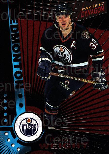 1997-98 Dynagon Dark Grey #52 Doug Weight<br/>3 In Stock - $3.00 each - <a href=https://centericecollectibles.foxycart.com/cart?name=1997-98%20Dynagon%20Dark%20Grey%20%2352%20Doug%20Weight...&quantity_max=3&price=$3.00&code=376785 class=foxycart> Buy it now! </a>