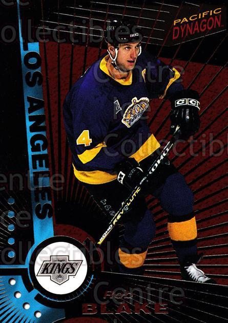 1997-98 Dynagon Dark Grey #58 Rob Blake<br/>6 In Stock - $3.00 each - <a href=https://centericecollectibles.foxycart.com/cart?name=1997-98%20Dynagon%20Dark%20Grey%20%2358%20Rob%20Blake...&quantity_max=6&price=$3.00&code=376791 class=foxycart> Buy it now! </a>
