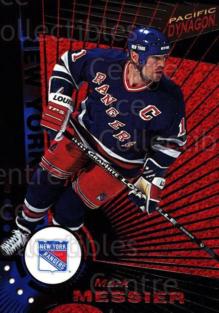 1997-98 Dynagon Dark Grey #81 Mark Messier<br/>1 In Stock - $3.00 each - <a href=https://centericecollectibles.foxycart.com/cart?name=1997-98%20Dynagon%20Dark%20Grey%20%2381%20Mark%20Messier...&quantity_max=1&price=$3.00&code=376815 class=foxycart> Buy it now! </a>