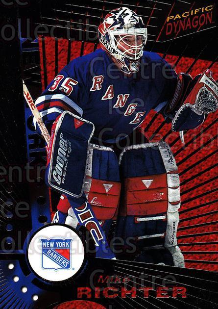 1997-98 Dynagon Dark Grey #82 Mike Richter<br/>1 In Stock - $3.00 each - <a href=https://centericecollectibles.foxycart.com/cart?name=1997-98%20Dynagon%20Dark%20Grey%20%2382%20Mike%20Richter...&quantity_max=1&price=$3.00&code=376816 class=foxycart> Buy it now! </a>