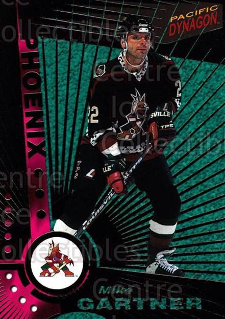 1997-98 Dynagon Dark Grey #95 Mike Gartner<br/>3 In Stock - $3.00 each - <a href=https://centericecollectibles.foxycart.com/cart?name=1997-98%20Dynagon%20Dark%20Grey%20%2395%20Mike%20Gartner...&quantity_max=3&price=$3.00&code=376830 class=foxycart> Buy it now! </a>