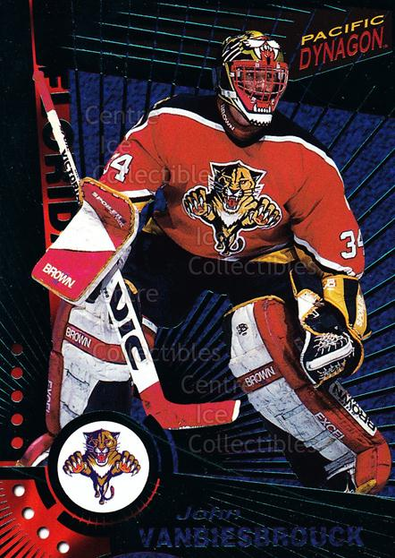 1997-98 Dynagon Emerald #57 John Vanbiesbrouck<br/>3 In Stock - $3.00 each - <a href=https://centericecollectibles.foxycart.com/cart?name=1997-98%20Dynagon%20Emerald%20%2357%20John%20Vanbiesbro...&quantity_max=3&price=$3.00&code=376945 class=foxycart> Buy it now! </a>
