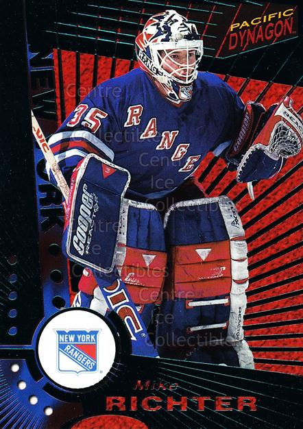 1997-98 Dynagon Emerald #82 Mike Richter<br/>11 In Stock - $3.00 each - <a href=https://centericecollectibles.foxycart.com/cart?name=1997-98%20Dynagon%20Emerald%20%2382%20Mike%20Richter...&quantity_max=11&price=$3.00&code=376971 class=foxycart> Buy it now! </a>