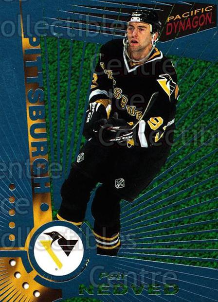 1997-98 Dynagon Ice Blue #104 Petr Nedved<br/>7 In Stock - $3.00 each - <a href=https://centericecollectibles.foxycart.com/cart?name=1997-98%20Dynagon%20Ice%20Blue%20%23104%20Petr%20Nedved...&quantity_max=7&price=$3.00&code=377023 class=foxycart> Buy it now! </a>