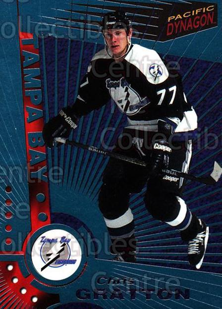 1997-98 Dynagon Ice Blue #117 Chris Gratton<br/>7 In Stock - $3.00 each - <a href=https://centericecollectibles.foxycart.com/cart?name=1997-98%20Dynagon%20Ice%20Blue%20%23117%20Chris%20Gratton...&quantity_max=7&price=$3.00&code=377036 class=foxycart> Buy it now! </a>