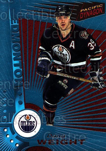 1997-98 Dynagon Ice Blue #52 Doug Weight<br/>5 In Stock - $3.00 each - <a href=https://centericecollectibles.foxycart.com/cart?name=1997-98%20Dynagon%20Ice%20Blue%20%2352%20Doug%20Weight...&quantity_max=5&price=$3.00&code=377095 class=foxycart> Buy it now! </a>