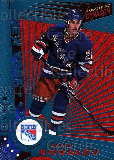 1997-98 Dynagon Ice Blue #79 Alexei Kovalev<br/>8 In Stock - $3.00 each - <a href=https://centericecollectibles.foxycart.com/cart?name=1997-98%20Dynagon%20Ice%20Blue%20%2379%20Alexei%20Kovalev...&quantity_max=8&price=$3.00&code=377122 class=foxycart> Buy it now! </a>