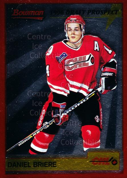 1995-96 Bowman Draft Prospects #4 Daniel Briere<br/>8 In Stock - $3.00 each - <a href=https://centericecollectibles.foxycart.com/cart?name=1995-96%20Bowman%20Draft%20Prospects%20%234%20Daniel%20Briere...&quantity_max=8&price=$3.00&code=37712 class=foxycart> Buy it now! </a>
