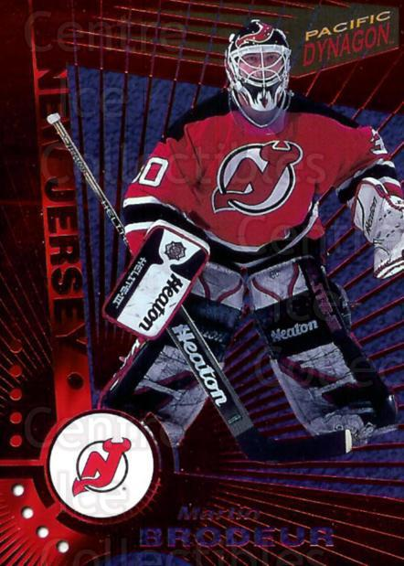 1997-98 Pacific Dynagon Red #68 Martin Brodeur<br/>1 In Stock - $10.00 each - <a href=https://centericecollectibles.foxycart.com/cart?name=1997-98%20Pacific%20Dynagon%20Red%20%2368%20Martin%20Brodeur...&price=$10.00&code=377165 class=foxycart> Buy it now! </a>