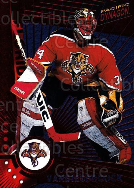 1997-98 Dynagon Red #57 John Vanbiesbrouck<br/>1 In Stock - $3.00 each - <a href=https://centericecollectibles.foxycart.com/cart?name=1997-98%20Dynagon%20Red%20%2357%20John%20Vanbiesbro...&quantity_max=1&price=$3.00&code=377255 class=foxycart> Buy it now! </a>
