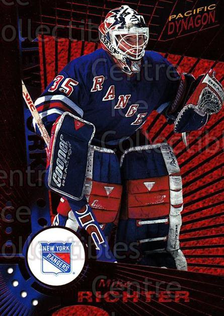 1997-98 Dynagon Red #82 Mike Richter<br/>8 In Stock - $3.00 each - <a href=https://centericecollectibles.foxycart.com/cart?name=1997-98%20Dynagon%20Red%20%2382%20Mike%20Richter...&quantity_max=8&price=$3.00&code=377281 class=foxycart> Buy it now! </a>