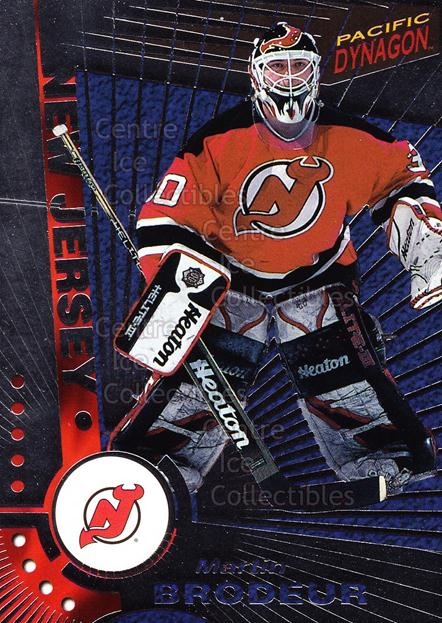 1997-98 Pacific Dynagon Silver #68 Martin Brodeur<br/>2 In Stock - $10.00 each - <a href=https://centericecollectibles.foxycart.com/cart?name=1997-98%20Pacific%20Dynagon%20Silver%20%2368%20Martin%20Brodeur...&price=$10.00&code=377320 class=foxycart> Buy it now! </a>