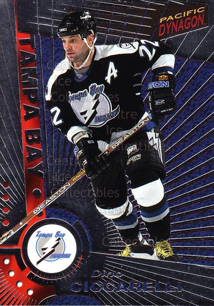 1997-98 Dynagon Silver #115 Dino Ciccarelli<br/>12 In Stock - $3.00 each - <a href=https://centericecollectibles.foxycart.com/cart?name=1997-98%20Dynagon%20Silver%20%23115%20Dino%20Ciccarelli...&quantity_max=12&price=$3.00&code=377344 class=foxycart> Buy it now! </a>