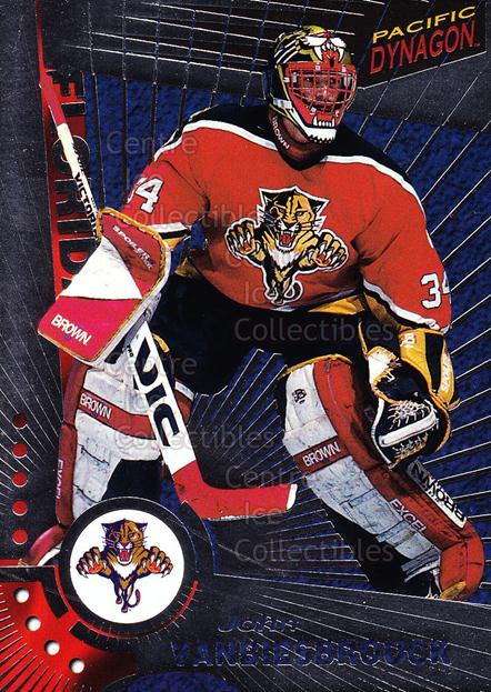 1997-98 Dynagon Silver #57 John Vanbiesbrouck<br/>2 In Stock - $3.00 each - <a href=https://centericecollectibles.foxycart.com/cart?name=1997-98%20Dynagon%20Silver%20%2357%20John%20Vanbiesbro...&quantity_max=2&price=$3.00&code=377410 class=foxycart> Buy it now! </a>