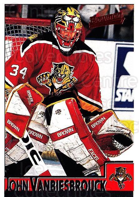 1995-96 Bowman #30 John Vanbiesbrouck<br/>5 In Stock - $1.00 each - <a href=https://centericecollectibles.foxycart.com/cart?name=1995-96%20Bowman%20%2330%20John%20Vanbiesbro...&quantity_max=5&price=$1.00&code=37820 class=foxycart> Buy it now! </a>