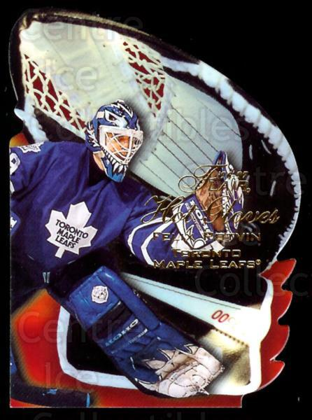 1996-97 Flair Hot Gloves #8 Felix Potvin<br/>1 In Stock - $5.00 each - <a href=https://centericecollectibles.foxycart.com/cart?name=1996-97%20Flair%20Hot%20Gloves%20%238%20Felix%20Potvin...&quantity_max=1&price=$5.00&code=378278 class=foxycart> Buy it now! </a>