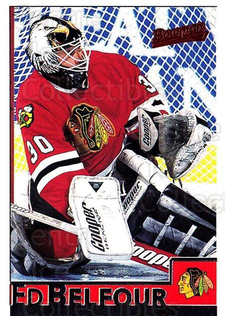 1995-96 Bowman #53 Ed Belfour<br/>5 In Stock - $1.00 each - <a href=https://centericecollectibles.foxycart.com/cart?name=1995-96%20Bowman%20%2353%20Ed%20Belfour...&price=$1.00&code=37845 class=foxycart> Buy it now! </a>