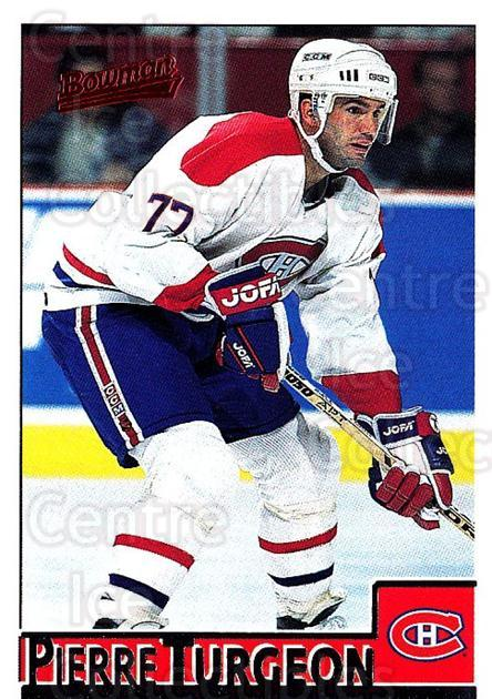 1995-96 Bowman #6 Pierre Turgeon<br/>4 In Stock - $1.00 each - <a href=https://centericecollectibles.foxycart.com/cart?name=1995-96%20Bowman%20%236%20Pierre%20Turgeon...&quantity_max=4&price=$1.00&code=37852 class=foxycart> Buy it now! </a>