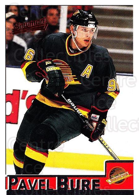 1995-96 Bowman #65 Pavel Bure<br/>5 In Stock - $1.00 each - <a href=https://centericecollectibles.foxycart.com/cart?name=1995-96%20Bowman%20%2365%20Pavel%20Bure...&quantity_max=5&price=$1.00&code=37858 class=foxycart> Buy it now! </a>