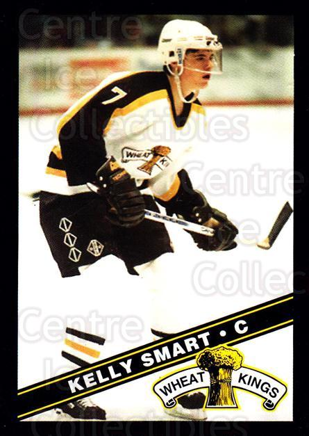 1995-96 Brandon Wheat Kings #5 Kelly Smart<br/>3 In Stock - $3.00 each - <a href=https://centericecollectibles.foxycart.com/cart?name=1995-96%20Brandon%20Wheat%20Kings%20%235%20Kelly%20Smart...&quantity_max=3&price=$3.00&code=37901 class=foxycart> Buy it now! </a>