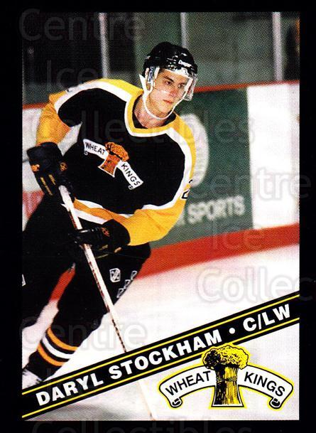 1995-96 Brandon Wheat Kings #21 Darryl Stockham<br/>1 In Stock - $3.00 each - <a href=https://centericecollectibles.foxycart.com/cart?name=1995-96%20Brandon%20Wheat%20Kings%20%2321%20Darryl%20Stockham...&quantity_max=1&price=$3.00&code=37902 class=foxycart> Buy it now! </a>