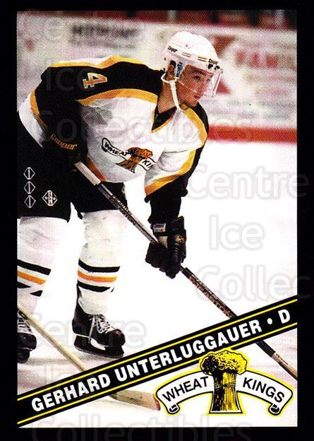 1995-96 Brandon Wheat Kings #3 Gerhard Unterluggauer<br/>2 In Stock - $3.00 each - <a href=https://centericecollectibles.foxycart.com/cart?name=1995-96%20Brandon%20Wheat%20Kings%20%233%20Gerhard%20Unterlu...&quantity_max=2&price=$3.00&code=37905 class=foxycart> Buy it now! </a>