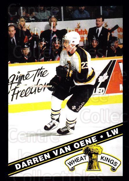 1995-96 Brandon Wheat Kings #19 Darren Van Oene<br/>2 In Stock - $3.00 each - <a href=https://centericecollectibles.foxycart.com/cart?name=1995-96%20Brandon%20Wheat%20Kings%20%2319%20Darren%20Van%20Oene...&quantity_max=2&price=$3.00&code=37906 class=foxycart> Buy it now! </a>