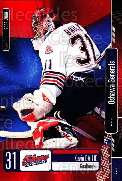 2008-09 Oshawa Generals #22 Kevin Bailie<br/>8 In Stock - $3.00 each - <a href=https://centericecollectibles.foxycart.com/cart?name=2008-09%20Oshawa%20Generals%20%2322%20Kevin%20Bailie...&quantity_max=8&price=$3.00&code=379086 class=foxycart> Buy it now! </a>