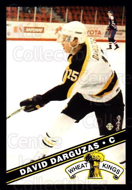 1995-96 Brandon Wheat Kings #11 David Draguzas<br/>3 In Stock - $3.00 each - <a href=https://centericecollectibles.foxycart.com/cart?name=1995-96%20Brandon%20Wheat%20Kings%20%2311%20David%20Draguzas...&quantity_max=3&price=$3.00&code=37909 class=foxycart> Buy it now! </a>