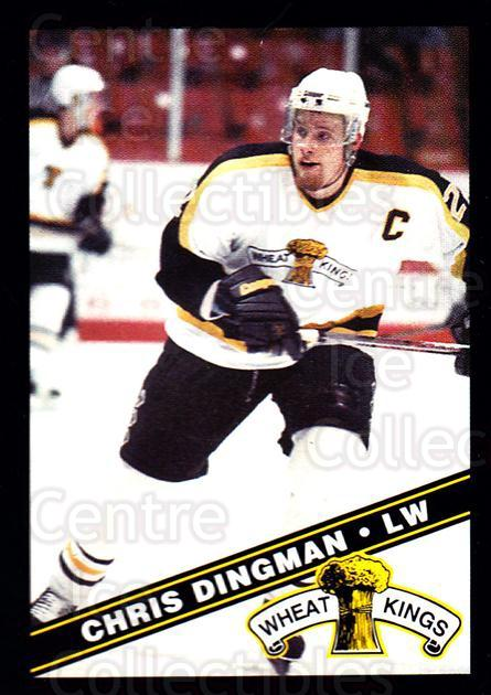 1995-96 Brandon Wheat Kings #18 Chris Dingman<br/>2 In Stock - $3.00 each - <a href=https://centericecollectibles.foxycart.com/cart?name=1995-96%20Brandon%20Wheat%20Kings%20%2318%20Chris%20Dingman...&quantity_max=2&price=$3.00&code=37910 class=foxycart> Buy it now! </a>