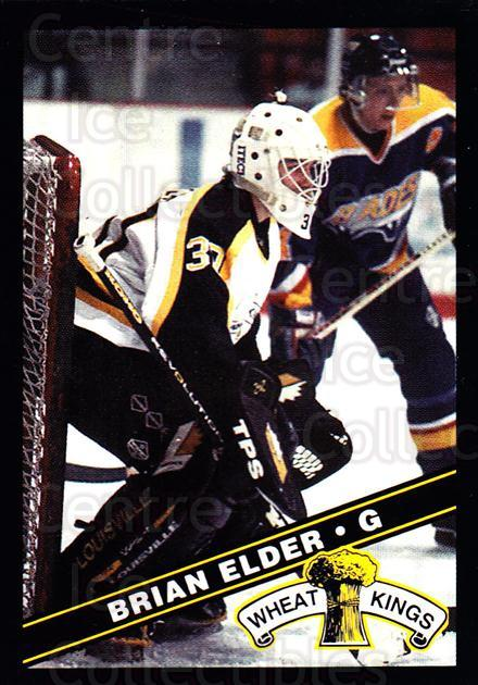 1995-96 Brandon Wheat Kings #24 Brian Elder<br/>1 In Stock - $3.00 each - <a href=https://centericecollectibles.foxycart.com/cart?name=1995-96%20Brandon%20Wheat%20Kings%20%2324%20Brian%20Elder...&quantity_max=1&price=$3.00&code=37912 class=foxycart> Buy it now! </a>