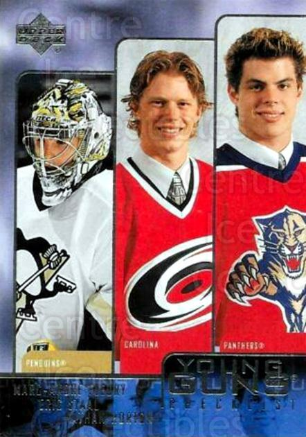 2003-04 Upper Deck #245 Marc-Andre Fleury, Checklist<br/>1 In Stock - $10.00 each - <a href=https://centericecollectibles.foxycart.com/cart?name=2003-04%20Upper%20Deck%20%23245%20Marc-Andre%20Fleu...&quantity_max=1&price=$10.00&code=379827 class=foxycart> Buy it now! </a>
