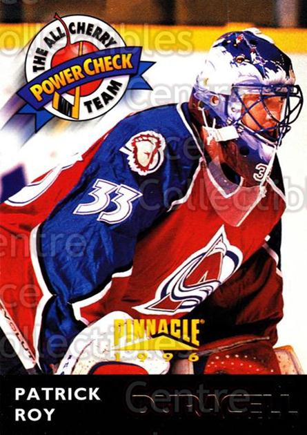 1996-97 Duracell Don Cherry All-Star Team #17 Patrick Roy<br/>2 In Stock - $5.00 each - <a href=https://centericecollectibles.foxycart.com/cart?name=1996-97%20Duracell%20Don%20Cherry%20All-Star%20Team%20%2317%20Patrick%20Roy...&price=$5.00&code=380002 class=foxycart> Buy it now! </a>