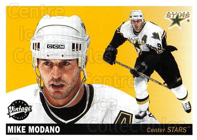 2002-03 UD Vintage #81 Mike Modano<br/>2 In Stock - $2.00 each - <a href=https://centericecollectibles.foxycart.com/cart?name=2002-03%20UD%20Vintage%20%2381%20Mike%20Modano...&quantity_max=2&price=$2.00&code=380034 class=foxycart> Buy it now! </a>