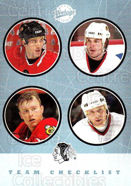 2002-03 UD Vintage #267 Jocelyn Thibault, Alexei Zhamnov, Eric Daze, Kyle Calder, Checklist<br/>2 In Stock - $2.00 each - <a href=https://centericecollectibles.foxycart.com/cart?name=2002-03%20UD%20Vintage%20%23267%20Jocelyn%20Thibaul...&quantity_max=2&price=$2.00&code=380055 class=foxycart> Buy it now! </a>