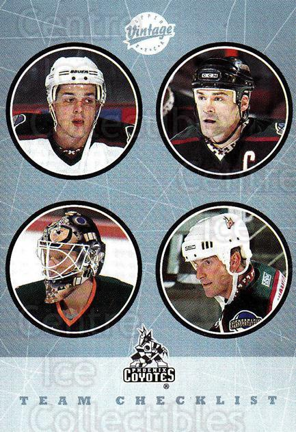 2002-03 UD Vintage #283 Tony Amonte, Sean Burke, Teppo Numminen, Daniel Briere, Checklist<br/>1 In Stock - $2.00 each - <a href=https://centericecollectibles.foxycart.com/cart?name=2002-03%20UD%20Vintage%20%23283%20Tony%20Amonte,%20Se...&quantity_max=1&price=$2.00&code=380071 class=foxycart> Buy it now! </a>
