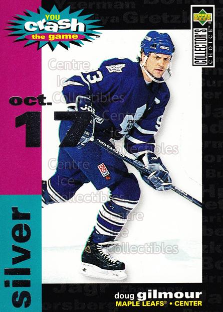 1995-96 Collectors Choice Crash The Game #21C Doug Gilmour<br/>1 In Stock - $1.00 each - <a href=https://centericecollectibles.foxycart.com/cart?name=1995-96%20Collectors%20Choice%20Crash%20The%20Game%20%2321C%20Doug%20Gilmour...&quantity_max=1&price=$1.00&code=380135 class=foxycart> Buy it now! </a>