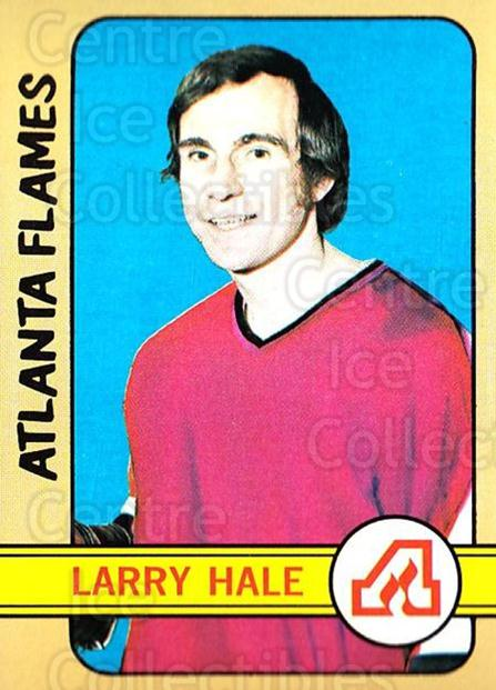 1972-73 Topps #44 Larry Hale<br/>5 In Stock - $3.00 each - <a href=https://centericecollectibles.foxycart.com/cart?name=1972-73%20Topps%20%2344%20Larry%20Hale...&quantity_max=5&price=$3.00&code=380564 class=foxycart> Buy it now! </a>