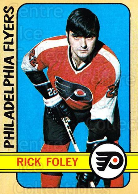 1972-73 Topps #98 Rick Foley<br/>16 In Stock - $3.00 each - <a href=https://centericecollectibles.foxycart.com/cart?name=1972-73%20Topps%20%2398%20Rick%20Foley...&quantity_max=16&price=$3.00&code=380618 class=foxycart> Buy it now! </a>