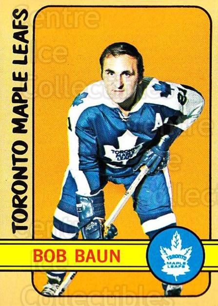 1972-73 Topps #134 Bob Baun<br/>1 In Stock - $5.00 each - <a href=https://centericecollectibles.foxycart.com/cart?name=1972-73%20Topps%20%23134%20Bob%20Baun...&price=$5.00&code=380654 class=foxycart> Buy it now! </a>